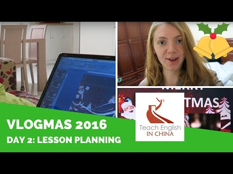 Vlogmas in Shanghai - Day 2 - Haircut & Christmas Lesson Planning
