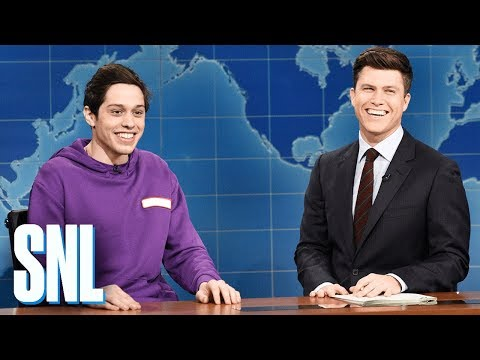 Thumbnail: Weekend Update: Pete Davidson on Staten Island - SNL