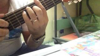 Cùng tập guitar Online 4: Tập Finger Style trên Sheet nhạc