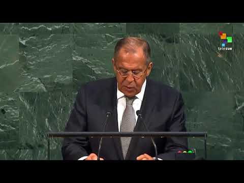 UN Speeches: Russian Foreign Minister Sergei Lavrov