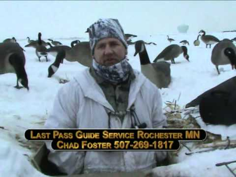 Late Season Goose Hunting Rochester, MN