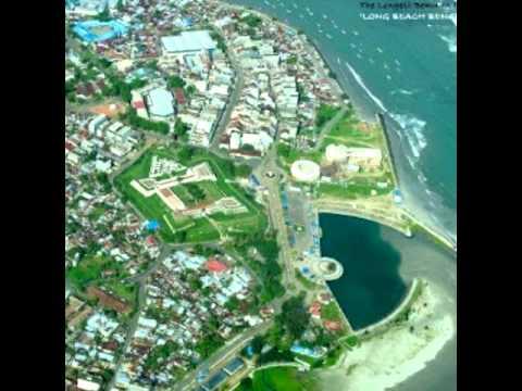 Visit to bengkulu city