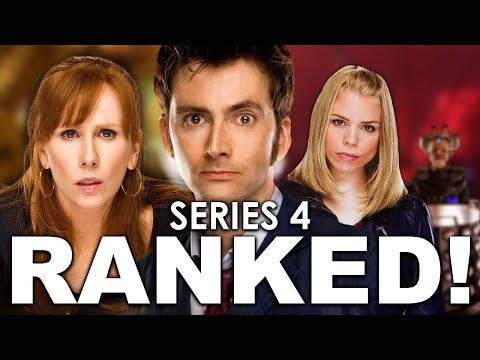 Doctor Who Series 4 Episodes Ranked!