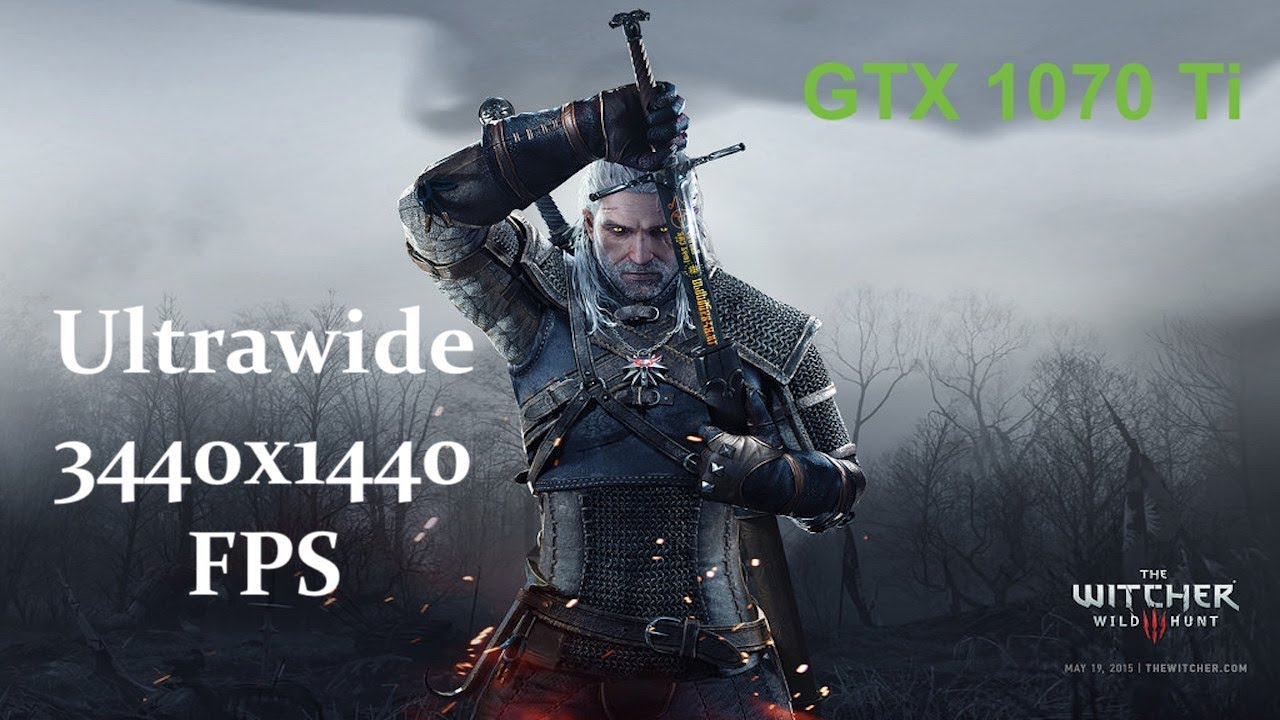 The Witcher 3 GTX 1070 Ti OC Ultrawide 3440x1440 Performance (Gameplay)