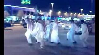 شباب السعودية والاحتفال باليوم الوطني