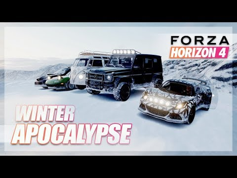 Forza Horizon 4 - Best Winter Apocalypse Car! thumbnail