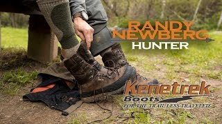 Kenetrek Boots and Sock System with Randy Newberg - Socks First