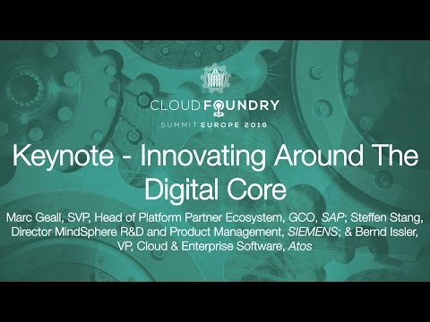 Keynote - Innovating Around The Digital Core