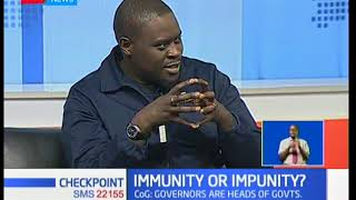 Should Governors be granted immunity similar to that of the President? (Part 1) thumbnail