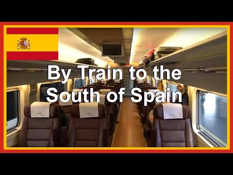 Spain Fast Train To Seville From Madrid - 1st Class Train Travel Preferente RENFE AVE  In Europe