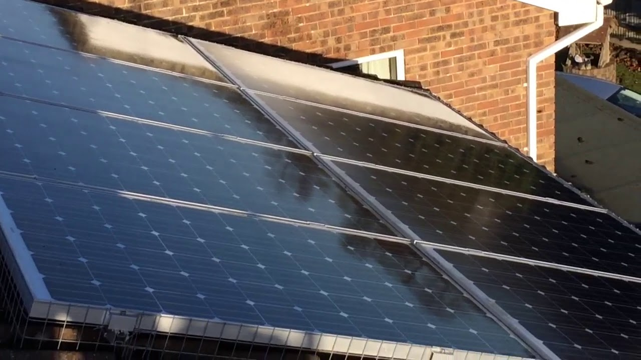 How To Get Rid Of Pigeons Under Solar Panels Youtube