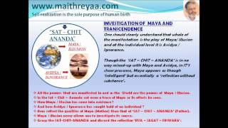 Investigation of Maya and Transcendence.1.(Eng)