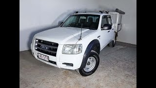 (SOLD) Turbo Diesel 4×4 Dual Cab Ute Ford Ranger 2007 Review