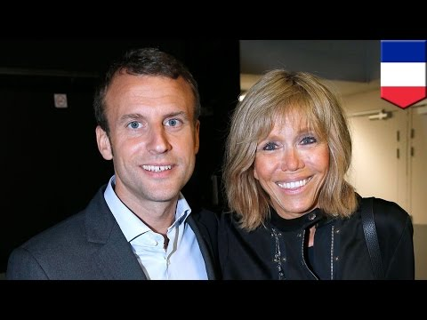 France presidential election: Emmanuel Macron likes the ladies, the old ladies
