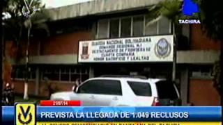 1049 reclusos regresarán al centro penitenciario en Santa Ana del Táchira