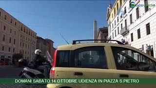 Notiziario video LUCEVERDE ROMA di venerdì 13 ottobre 2017