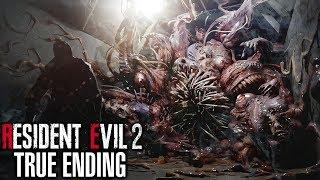 Resident Evil 2 Remake 2nd Run Ending - TRUE SECRET ENDING
