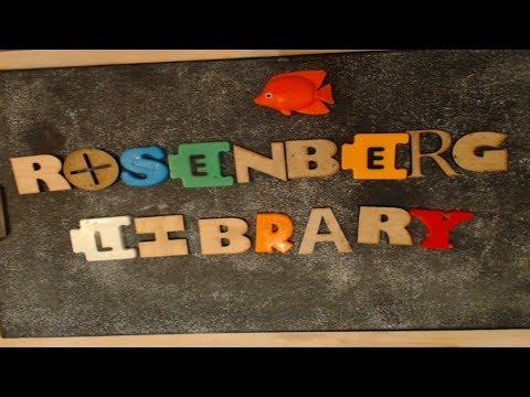 Rosenberg Library Day 6/29/2018