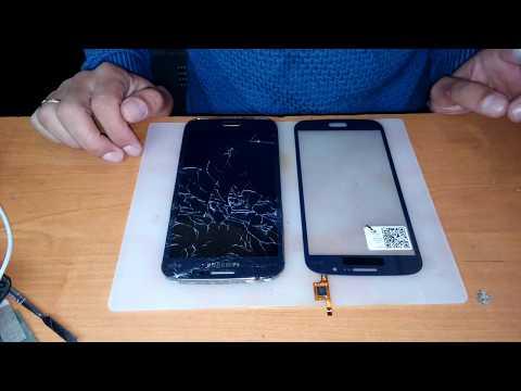 Разборка и замена сенсора Samsung Galaxy Mega 5.8 i9152