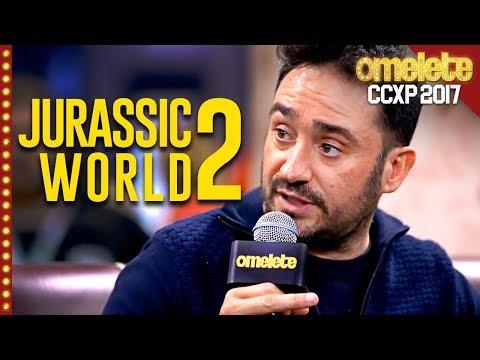 de Jurassic World: Reino Ameaçado com J. A. Bayona na CCXP 2017