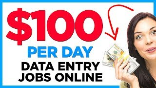 3 Data Entry Jobs You Cant Pass Up (Work At Home)