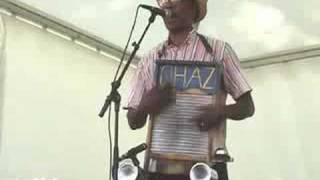 """WASHBOARD CHAZ TRIO """"I am so glad""""  blues  Cognac 2008"""