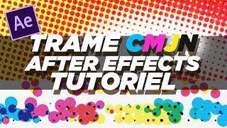 After Effects Tutoriel - Trame Demi-teinte (Halftone) CMJN