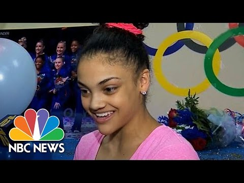 Laurie Hernandez Is First Latina Olympic Gymnast In 30 Years | NBC News