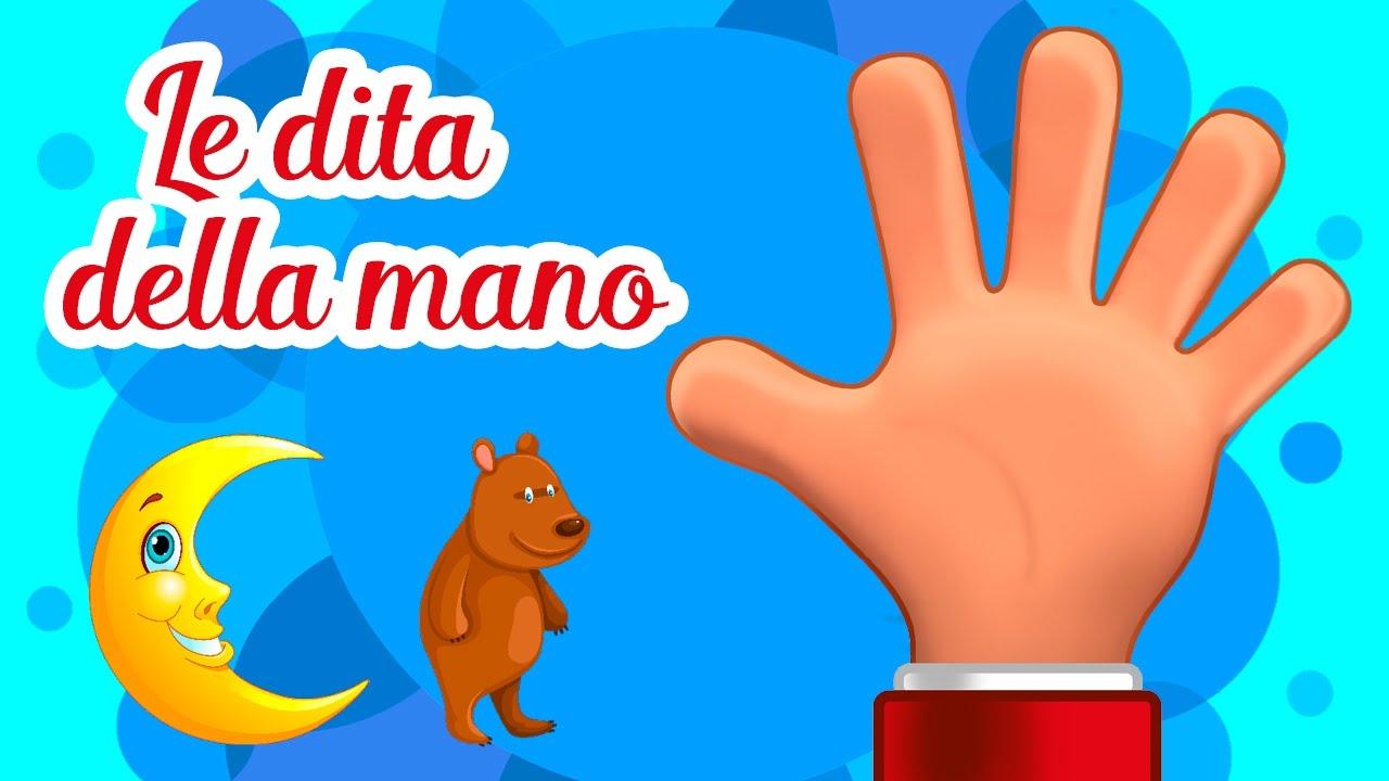 Le Dita Della Mano Canzoni Per Bambini Di Mela Music