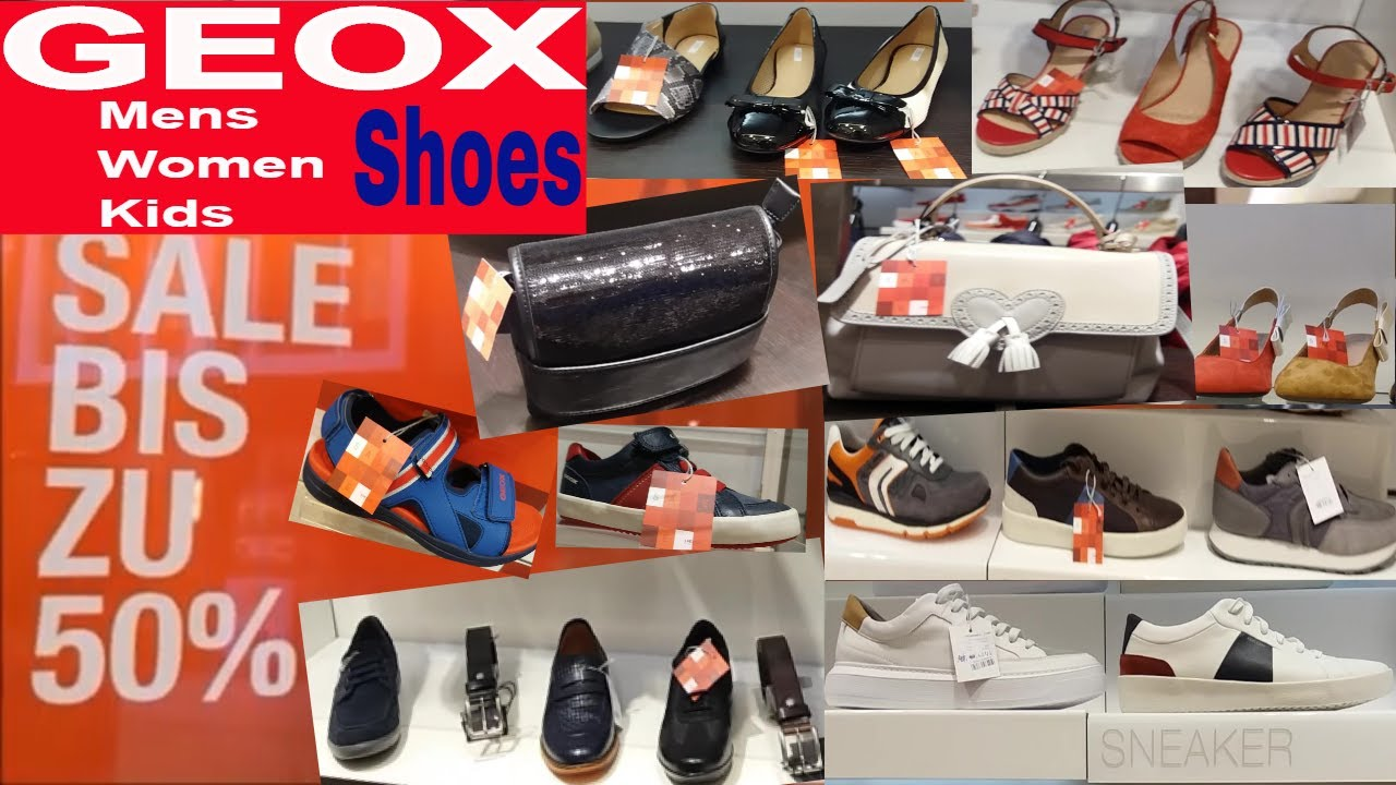 GEOX SHOES / BAGS SUMMER SALE JULY 2019