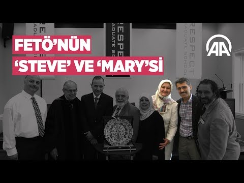 FETÖ'nün 'Steve' ve 'Mary'si