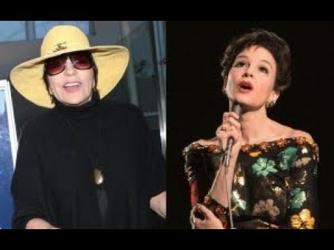 Liza Minnelli Disapproves of Renee Zellweger's Judy Garland Biopic