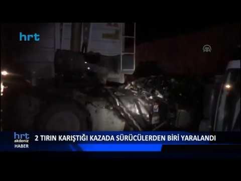 TIR'ın kupası uçtu: Sürücü, 'Ben böyle kaza görmedim'