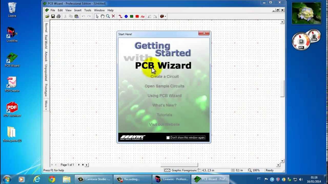 programa para simular circuitos e criar layout par - YouTube 295a5a0669b95