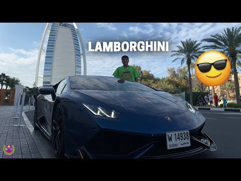 My Personal LAMBORGHINI in DUBAI !! 😍😎😎