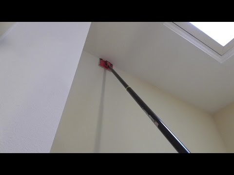How to Paint Tall Walls without ladder Paint Pad Review