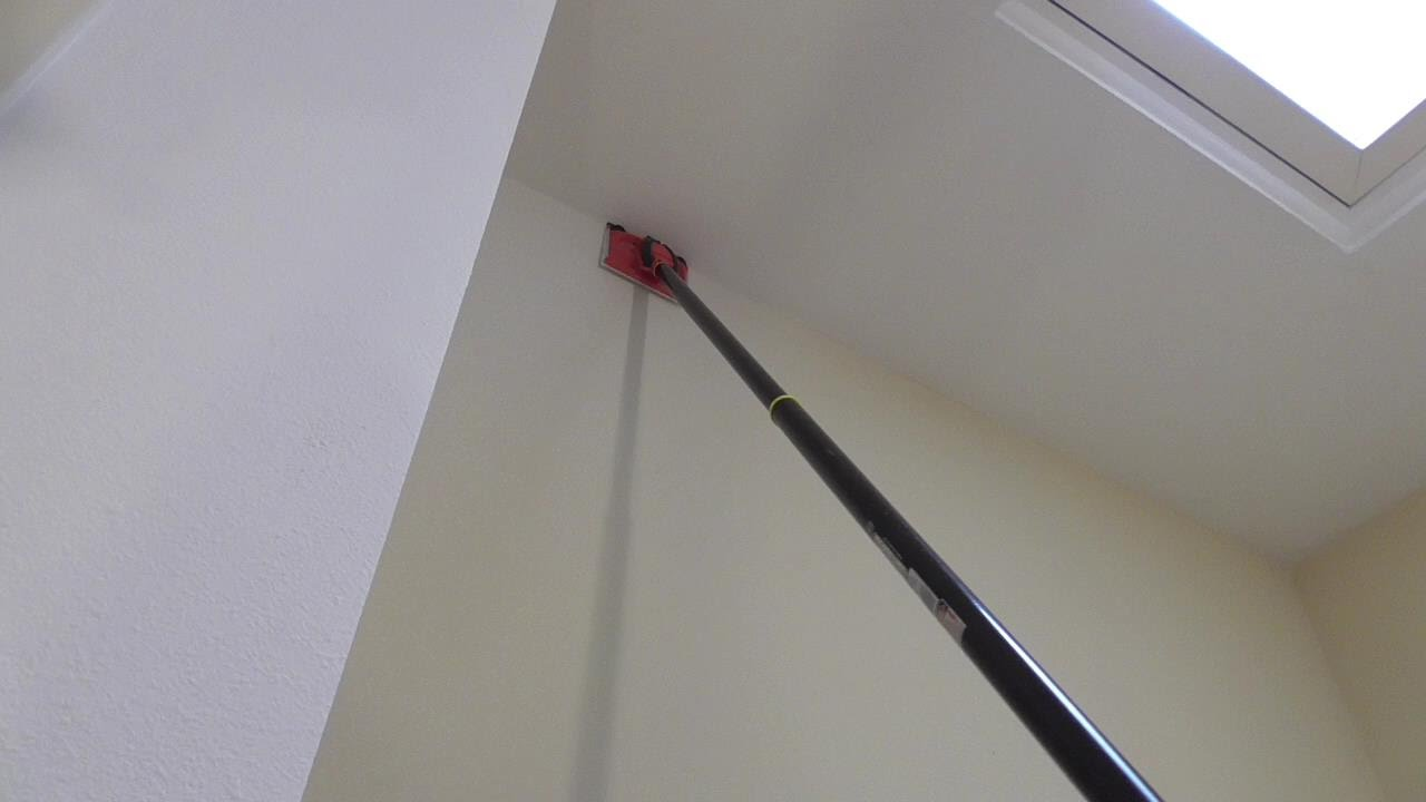 How to Paint Tall Walls without ladder Paint Pad Review ...