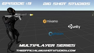 [9] Third Person Controller - Moving Over to Mixamo Assets || Multiplayer Series