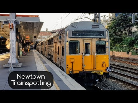 Sydney Trains Vlog 1459: Newtown Trainspotting