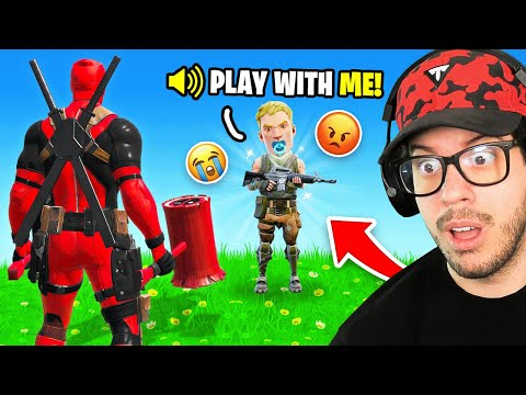I made a kid cry in Fortnite..