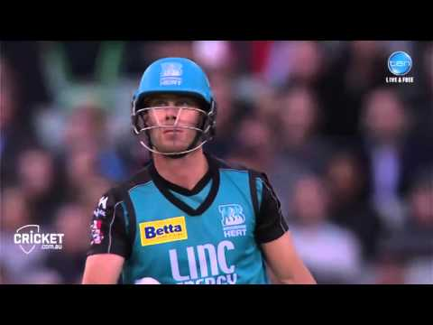 Chris Lynn hits FIVE sixes in a row