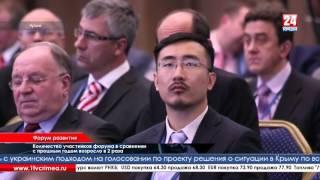 Делегации 25 стран посетят Ялтинский экономический форум