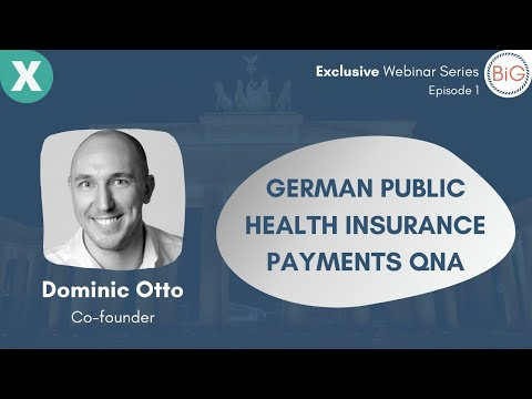 German Public Health Insurance Payments And Alternatives: Exclusive Series With Expatrio | Webinar 1