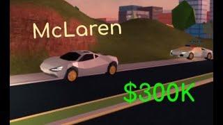 Buying the McLaren in Jailbreak | Roblox