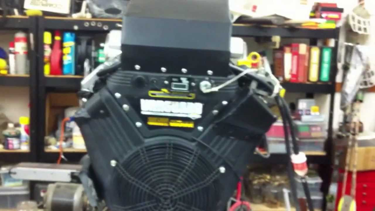35 Hp Briggs And Stratton With Ecotrons Efi