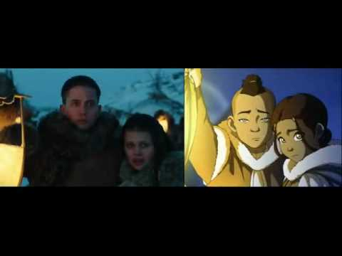 the last airbender movie trailer and tv comparison youtube