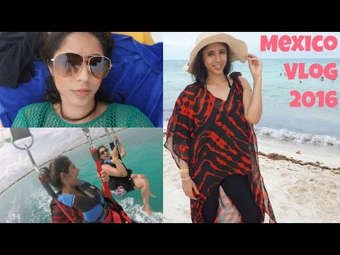 Riviera Maya, Mexico Vlog 2016 -  Parasailing Fail, Iberostar Paraiso Beach | VLOG 27