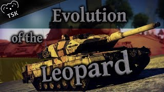 Evolution of the Leopard in War Thunder