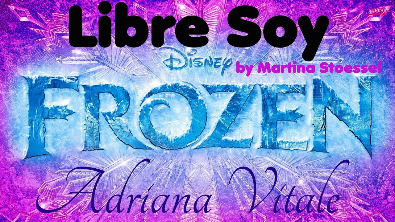 Libre Soy Martina Stoessel Libre Soy Martina Stoessel Quotfrozen Quot Acapella Cover By
