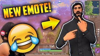 *NEW* The Crank Emote! FUNNIEST TROLL EVER! - Fortnite Epic & Funny Moments #26